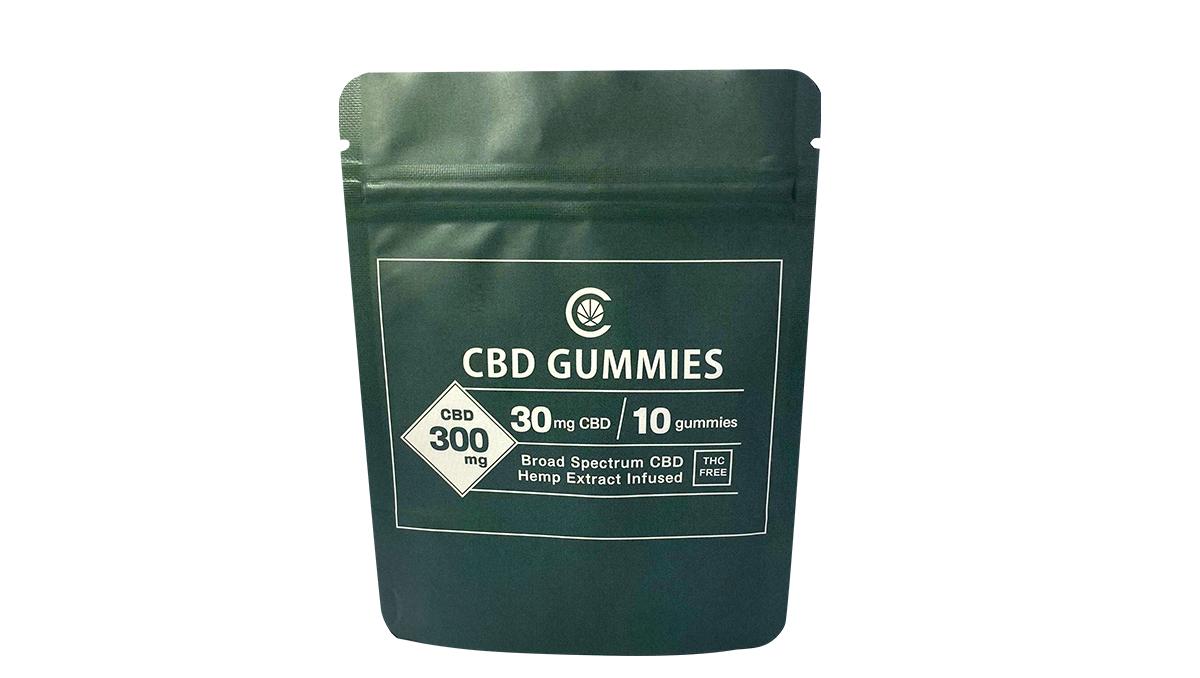 Broad Spectrum CBD Gummies (10粒入り)