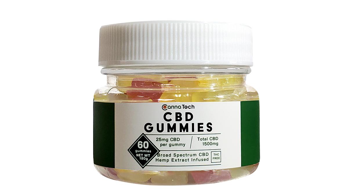 Broad Spectrum CBD Gummies(60粒入り)